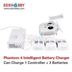Intelligent Battery Charger Manager 4 in 1 Remote Controller & Battery Parallel Charger for DJI Phantom4/PRO/PRO+