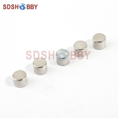5pcs/Bag 5*4mm Strong Rare Earth Powerful N38 NdFeB Magnet/ Cylinder Super Permanent Magnets For RC Gas Engine
