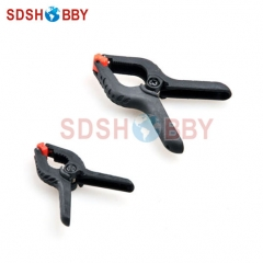 Small Plastic-steel Clip (5 pieces)