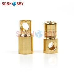 10 Pairs* 6.0mm Gold Coated Banana Connector Set for Battery/ Motor/ESC