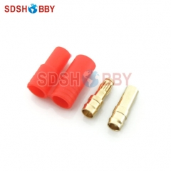10 sets* Gold Coated Banana Connector Set 3.5mm with housing