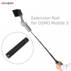 Handheld Gimbal Extension Rod Scalable Stick for DJI OSMO POCKET/ACTION/Mobile 2 3