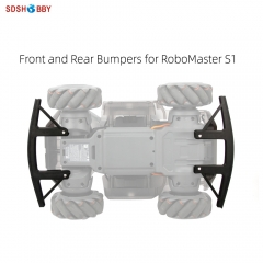 Front and Rear Bumpers Protector Guard Anti-collision Accessories for RoboMaster S1