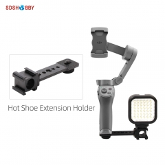 Hot Shoe Extension Kits Microphone Flash Light Holder Bracket for OSMO MOBILE 2 3/ OSMO ACTION