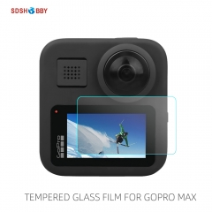 Sunnylife HD Tempered Glass Protective Film Screen Protector Sports Camera Accessories for GoPro Max