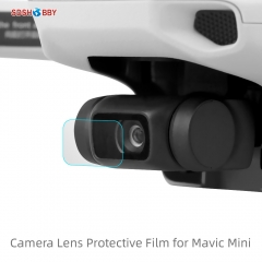 Sunnylife 2 Set Camera Lens Tempered Glass Film HD Protective Film Lens Protector for Mavic Mini