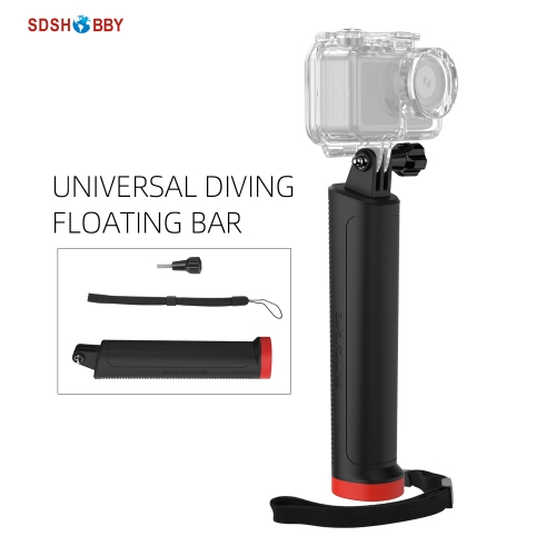 Universal Buoyancy Bar Sports Camera Handheld Floating Bar Underwater Shooting Accessories for Insta360 One R GoPro 8 Osmo Action Osmo Pocket