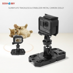 Sunnylife Mini Stabilizer Camera Dolly Bracket for POCKET 2/FIMI PALM 2/Insta360 ONE X2/Gopro/OSMO Pocket