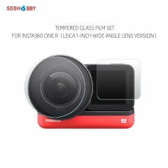 Sunnylife Screen Film Leica 1-Inch Wide Angle Lens Film Tempered Glass Film Set for Insta360 ONE R