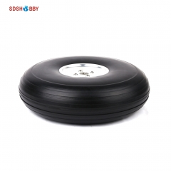 8.5inch PU Wheel for RC Airplane H65mm with D8mm CNC Aluminum Hub