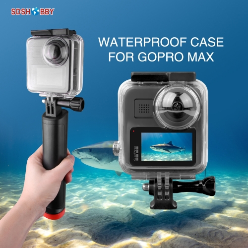 40 Meters Waterproof Protective Case Underwater Housing Case Diving Shell for GoPro Max