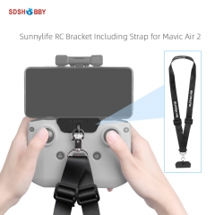 Sunnylife Remote Controller Hanger Bracket with Strap Belt Accessories for Mavic Air 2