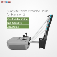 Sunnylife Remote Controller Tablet Holder Tablet Extended Bracket Clip for Mini 2/Mavic Air 2/2S