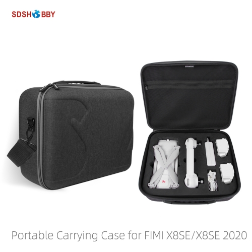 Sunnylife Portable Carrying Case Shoulder Bag Handbag Storage Bags for FIMI X8SE/ FIMI X8SE 2020