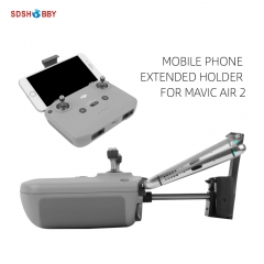 Sunnylife Large Screen Mobile Phone Holder Extended Bracket for Air 2S/Mini 2/Mavic Air 2 Remote Controller