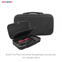 Sunnylife Bullet Time Multi-functional Carrying Case Storage Bag for Insta360 ONE R