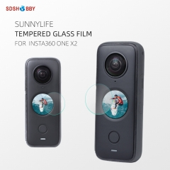 Sunnylife Protective Film Screen Protector HD Tempered Glass Film Sports Camera Accessories for Insta360 ONE X2