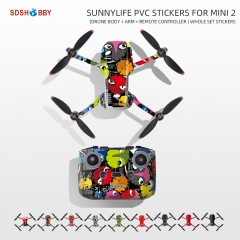 Sunnylife Protective Stickers PVC Film Scratch-proof Decals Skin Accessories for Mini 2