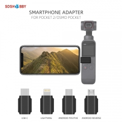Smartphone Adapter for Pocket 2/Osmo Pocket USB-C IOS Lightning Android Positive Standard Reverse Adapters Data Interface
