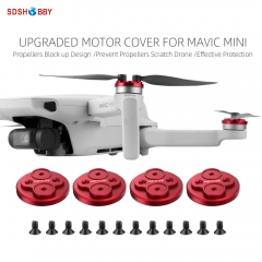 Hifylux Upgraded Motor Covers Propellers Block-up Scratch-proof Aluminum Alloy Motor Protective Cover for Mini 2/Mavic Mini