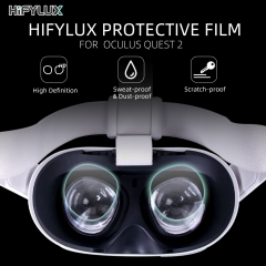 Hifylux HD Protective Film Scratch-proof Dust-proof Soft TPU Film for Oculus Quest 2