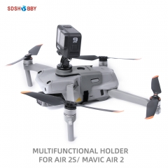 Sunnylife Multifunctional Holder Sports Camera Fill Light Bracket for Mavic Air 2/2S Drone for POCKET 2 GoPro Insta360 ONE X2 Osmo Action