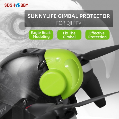 Sunnylife Gimbal Cover Lens Protector Dust-proof Bump-proof Case Accessories for DJI FPV
